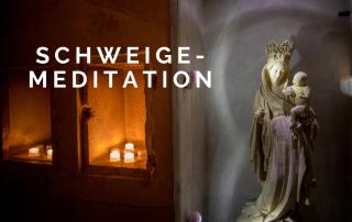 Schweige-Meditation im Kloster Eberbach